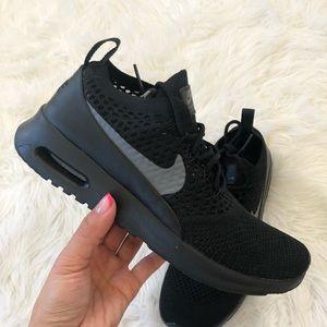 Nike Air Max Thea Ultra Flyknit Sneakers In Lright Meloe